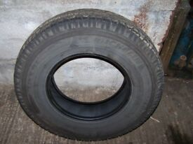 Land Rover tyres 7.50 X16 Michelin