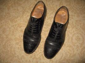 Jones boot maker - charter men shoes - size 8 - black