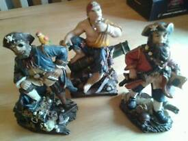 Selection of 8 Pirate figures