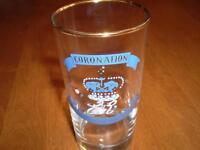VINTAGE QUEEN ELIZABETH CORONATION GLASS