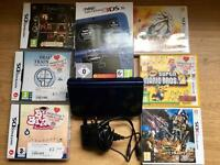 New 3ds XL with games