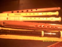 DESCANT RECORDERS ! , QUITE A COLLECTION , QUALITY & CHEAPIES , TAKE YOUR PICK ?++++