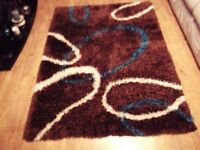 lined rug