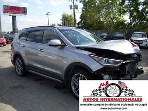 2017 Hyundai Santa Fe XL XL LIMITED 4X4 V6 3.3L 7 PASSAGERS FULL
