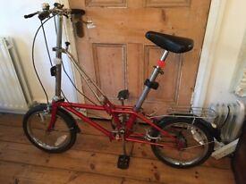 Cool Californian folding bike