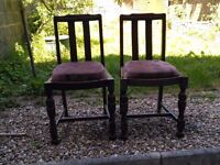 2 x Vintage Dining Chairs