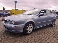 2002 JAGUAR X-TYPE 2.1 V6 PETROL, LOW MILEAGE, HPI CLEAR, LONG MOT, GOOD CONDITION, AUTO, LEATHER.