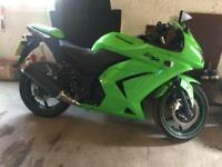 Kawasaki Ninja 250cc Only 4,500 miles Absolutely Immaculate