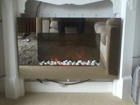 Electric Wall Mounted Fire With Flame Effect
