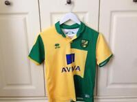 """Norwich shirt boys 36"""""""