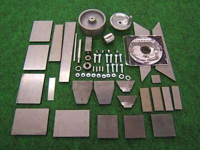 English Wheel Kit 1 - Planishing Hammer Pullmax Rat Rod Harley - Usa