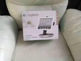 Logitech speaker stand for I pad