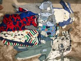Bnwt 3-6 sleepsuits from next