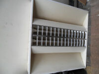 Office recessed ceiling lights 2feet x 2feet warm white (Three (3) sets )