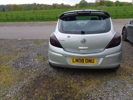 Corsa 1.3 diesal with extras open to offers