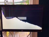 "BROKEN HP Monitor ProDisplay P232 24"""