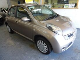 2008 NISSAN MICRA 1.2 ACENTA 5DOOR, FULL SERVICE HISTORY, HPI CLEAR, DRIVES LIKE NEW, VERY NICE CAR