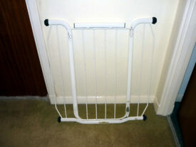 Tall Child Safety Gate - with extensions – Hall/Stairs/Door