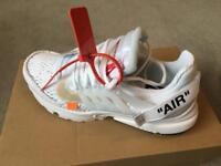 Nike x Off White Air Presto UK 8