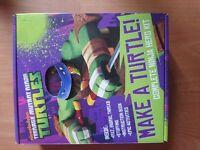 Teenage Mutant Ninja Turtles make a turtle complete ninja hero kit. Crafting felt kids kit