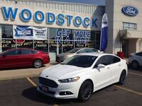 2014 Ford Fusion SE, LEATHER, NAV