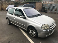 Renault Clio Sport 2.0 16v 172 W Reg 2000! Mot May! PERFECT TRACK CAR! 136,000! Miles with history!