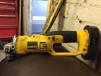 Dewalt grinder 18v with battery