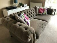 SOLD M&S Chesterfield 4-seater sofa