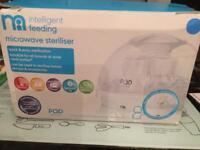 Mothercare universal baby bottle microwave steriliser