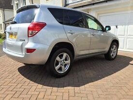 Toyota RAV4 2.0 XT-R. Top of the range, low mileage, FSH and 2 previous owners.