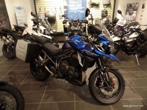 2017 Triumph Tiger Explorer 1200 XRX Low Seat