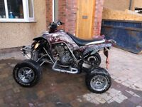 Road legal quad bike Yamaha raptor 660r