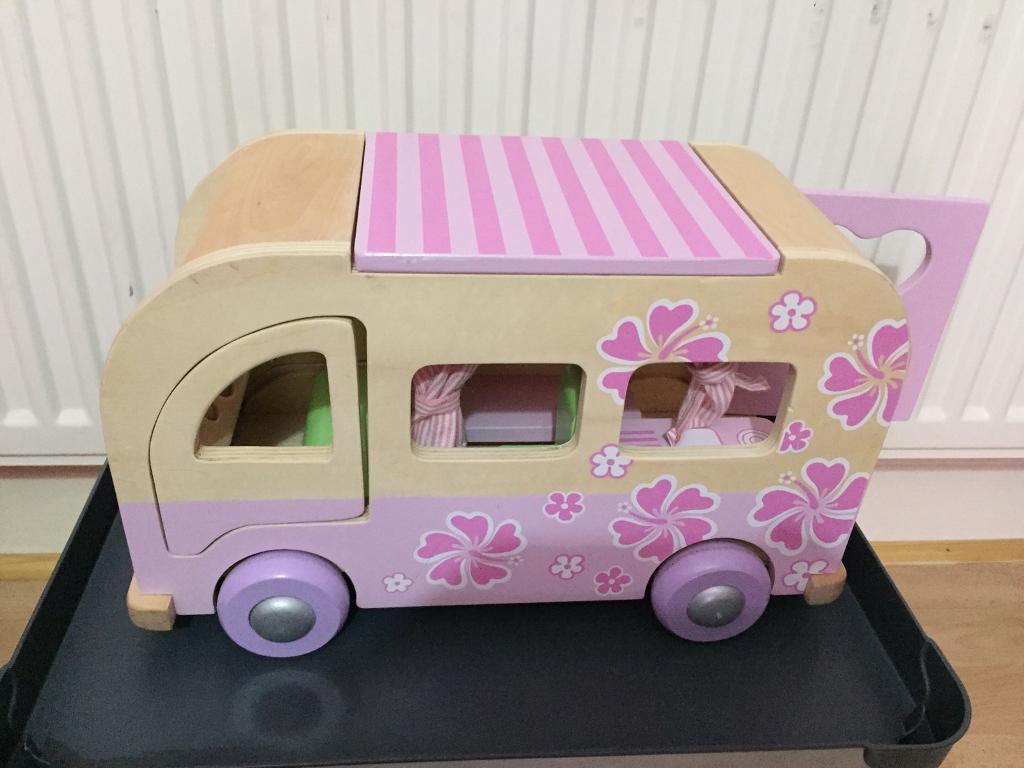 Elc Wooden Dolls House Camper Van In Pontypool Torfaen Gumtree