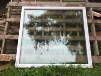 Upvc double glazed window with cill.