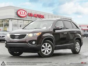 2012 Kia Sorento LX 4CYL FWD FOG LIGHTS, ALLOYS !!