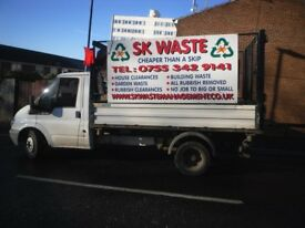 S K, WASTE - RUBBISH REMOVAL... SAMEDAY CALLOUT .W