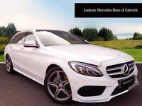 Mercedes-Benz C Class C220 D AMG LINE PREMIUM (white) 2016-03-08