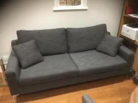 Dwell 3 seater sofa 2 months old