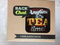 NEW 'Anytime is TEA time!' Mug.