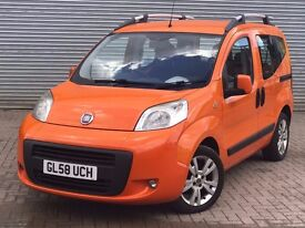 2009 FIAT QUBO DYNAMIC, 1.2 DIESEL ENGINE, FULL SERVICE HISTORY & 1 OWNER FROM NEW.