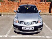NISSAN NOTE 1.4 5DR SERVICE HISTORY NEW MOT