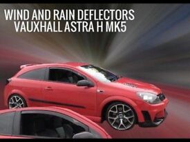 3 Door Astra H Wind Deflectors