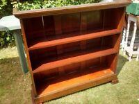 Vintage Edwardian Mahogany Bookcase