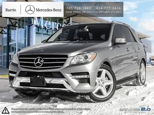 2012 Mercedes-Benz M-Class ML350! Nav! Blind Spot! Back up Cam!
