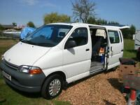 toyota hiace minibus only one previous owner with low miles