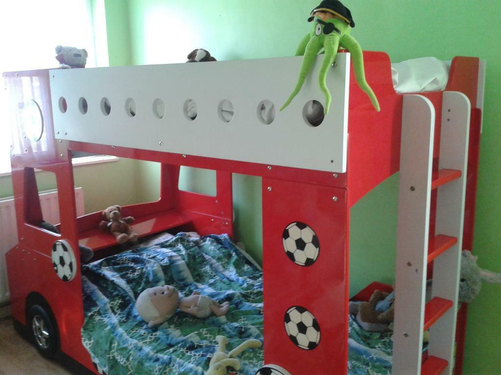 Stunning Football Crazy Bus Bunk Bed Bunkbed In Clapham Junction