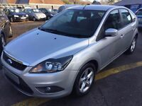 2009/09 FORD FOCUS 1.6 ZETEC HATCHBACK SILVER, LOW MILEAGE,EXCELLENT CONDITION,LOOKS AND DRIVES WELL