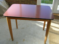 Formica Table - Kitchen, Dining, Retro, Vintage