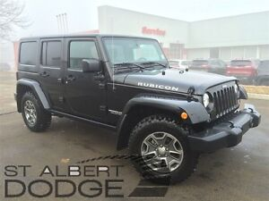 2016 Jeep WRANGLER UNLIMITED RUBICON | 4X4 | HEATED LEATHER | LO