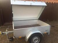 Anssems aluminium trailer + hardtop + spare wheel (high quality)